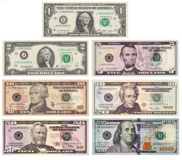 U.S Dollars