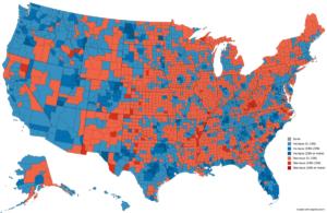 U.S. population by states